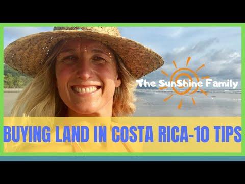 Buying Land In