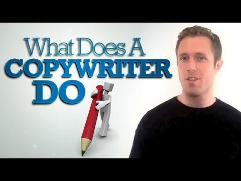 What Does a Copywriter Do