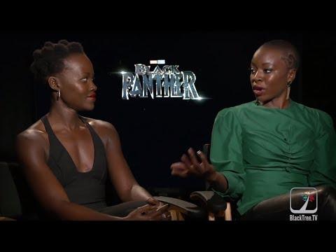 Black Panther on BlackTree: Lupita Nyong'o and Danai Gurira