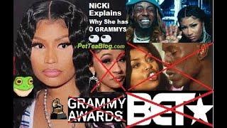 Nicki Minaj Drags BET for Cardi B Grammy Tweet Diss, Why Never Won & Cancels Show with Lil Wayne ..