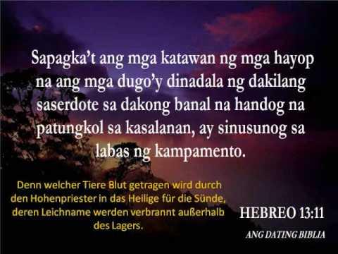 Hebreo 6 ang dating biblia