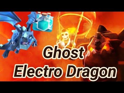 Ghost Electro Dragon | Electrone | lava loon | Miner | electro dragon | 3 Star attack COC 05/19