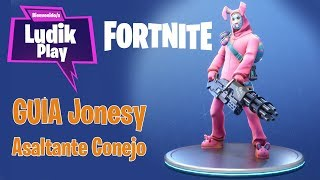 SOLDIER JONESY ASALTANT RABBIT ? FORTNITE SAVE THE WORLD Spanish GUIA