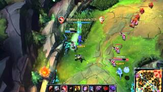 Fiora play from blidios(League of Legends)