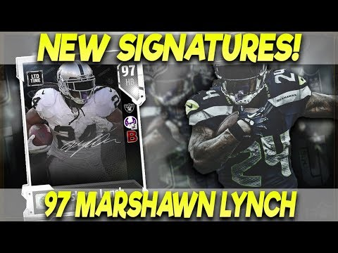 NEW 97 BEAST MODE!! MARSHAWN LYNCH AND CHANDLER JONES! | MADDEN 18 ULTIMATE TEAM