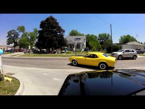 2017 HotRod PowerTour - The Road from KC to Newton, IA