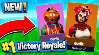 "ALL *NEW* SECRET SKINS | ""Tricera Ops"" & ""TomatoHead"" SKIN!! ( Leaked Fortnite Update )"