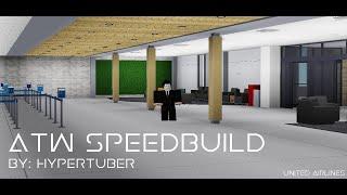 Appleton International Airport Speedbuild - Part 1 | ROBLOX|