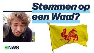 Kan je stemmen op een Waal? Niels T'Joen legt het voor je uit in af...