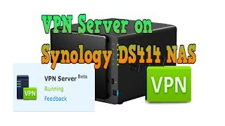 2014 synology ds414 dsm 5 0 part 7 vpn server install easy for mac and ios