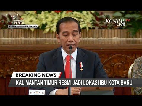 [FULL] Tok! Presiden Putuskan Kalimantan Timur Jadi Ibu Kota Baru Indonesia, Ini Pertimbangannnya