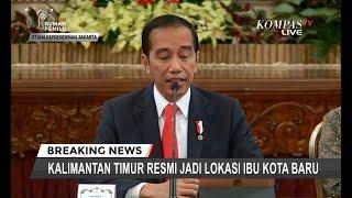 [FULL] Tok! Presiden Putuskan Kalimantan Timur Jadi Ibu Kota Baru Indonesia, Ini Pertimbangannnya Video