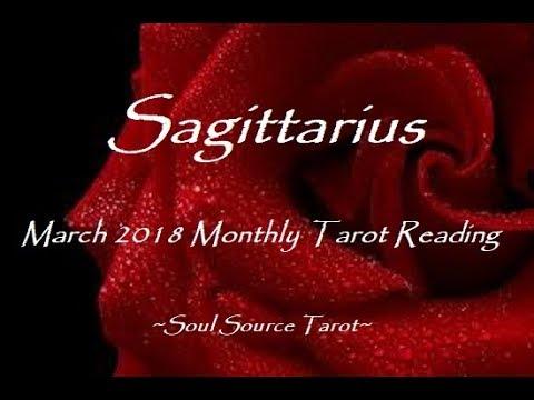 sagittarius tarot march