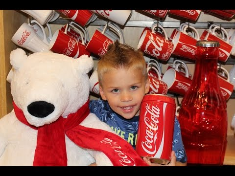 World of Coke -- Kids Best Day Ever!!