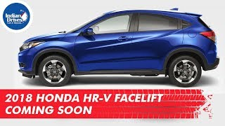 Video 2018 Honda HR-V Facelift Coming Soon download MP3, 3GP, MP4, WEBM, AVI, FLV September 2017