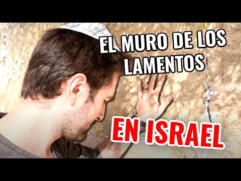 COMO ES EL MURO DE LOS LAMENTOS  EN JERUSALEM? ISRAEL , MEXICANA EN ISRAEL