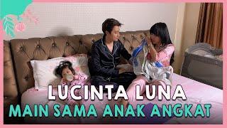 Keseruan mama Lucinta Luna dan papa Abas Main Sama dua Anak Angkat