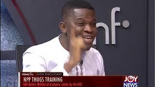 NPP Thugs Training – Newsfile on JoyNews (19-10-19)