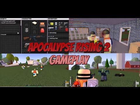 Roblox Apocalypse Rising 2 Gameplay! (AR2 Gameplay by  Dualp