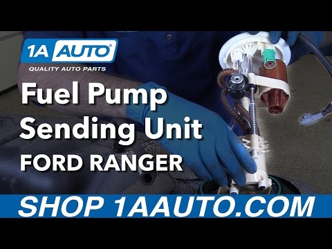 How to Install Replace Fuel Pump Sending Unit Module 2001 Ford Ranger Buy Parts at 1AAuto.com