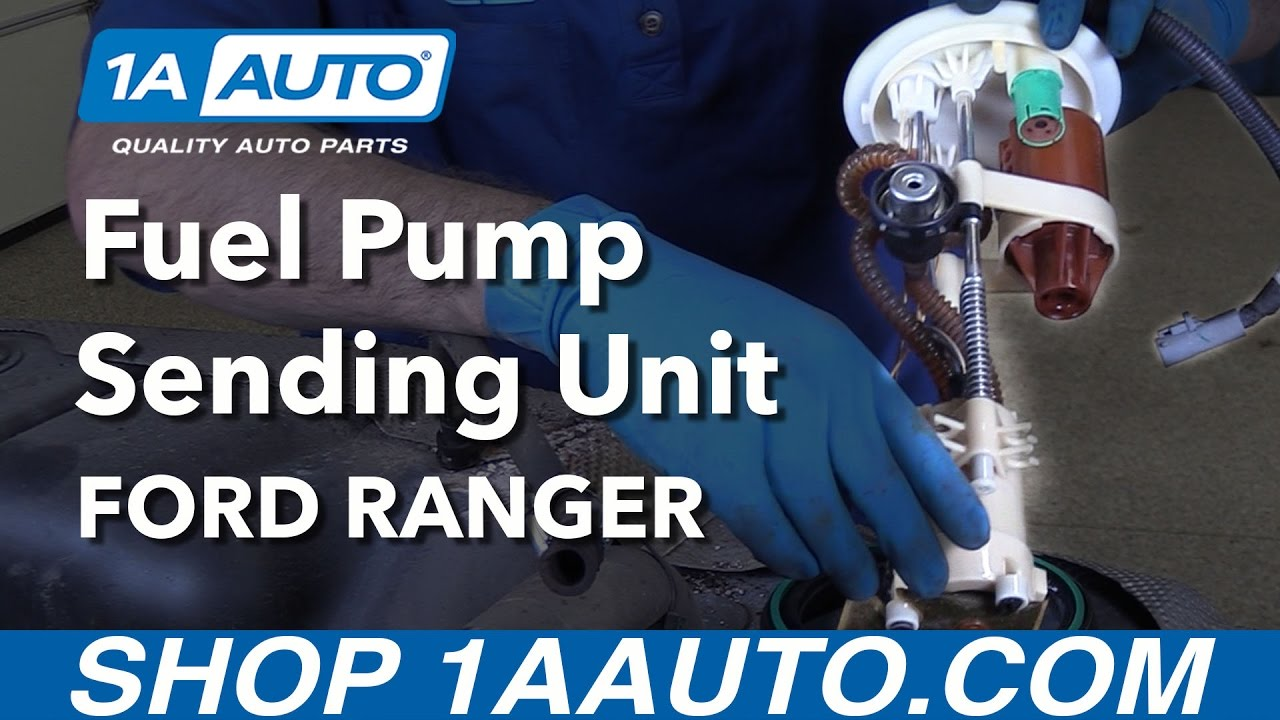 How To Replace Fuel Pump Sending Unit Module 98 12 Ford Ranger Youtube 99 Explorer Wiring Diagram