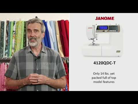 Janome 4120QDC-T Demonstration