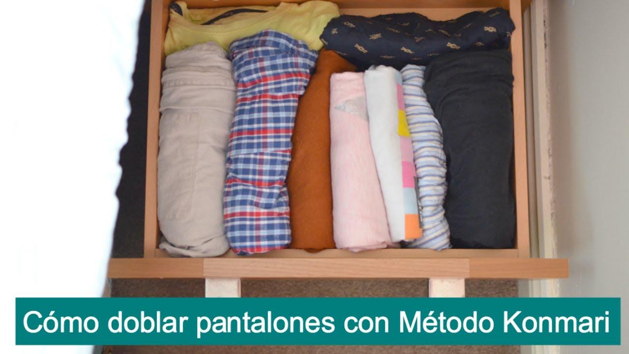 C mo doblar la ropa para ahorrar espacio con metodo - Metodo konmari ropa ...