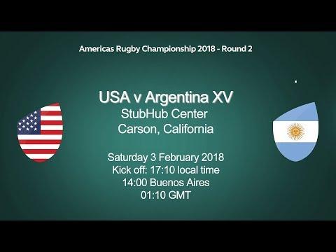 2018 Americas Rugby Championship - USA v Argentina XV