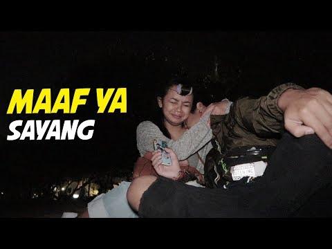 PUSPA KABUR KE PANTAI , NANGIS DISANA 😥 #MAAFSAYANG - HVLOG #55