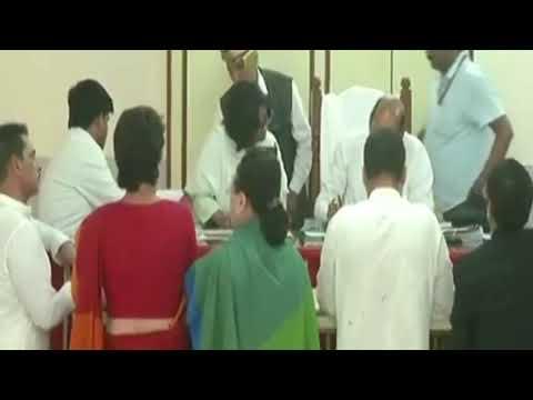 Congress President Rahul Gandhi files his nomination in Amethi
