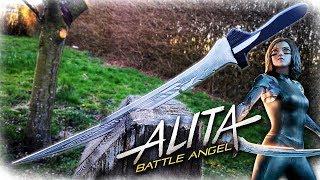 ALITA Battle Angel Sword (Aluminum Metal Casting)