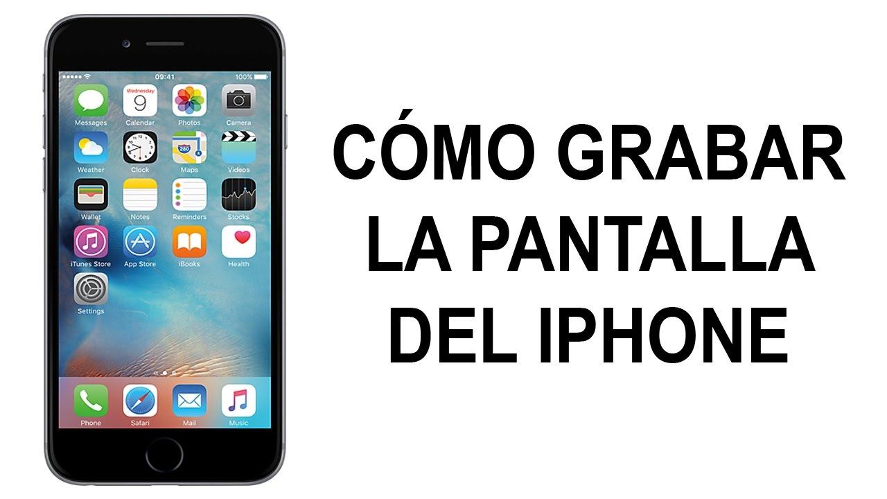 App Grabar Pantalla Iphone