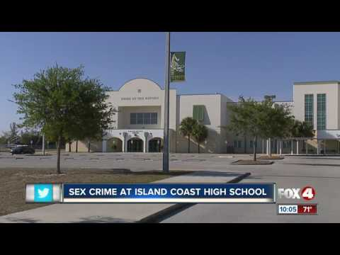 Sex crime reported at Island Coast High School