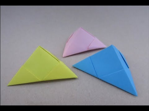 Pyramid Gift Box Craft | How to & Origami | Paper Tutorial | Cindy DIY