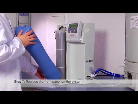 Changing Cartridge Consumables: Thermo Scientific Barnstead Pacific Water Purification System
