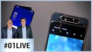 01Live Hebdo #222 : des smartphones étonnants signés Samsung et Oppo