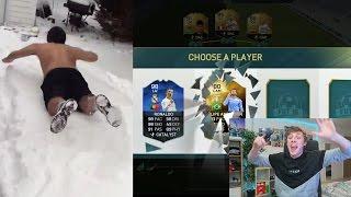SNOW JUMP!! FUT DRAFT CHALLENGE - FIFA 16