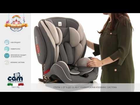 Детско столче за кола Cam REGOLO IsoFix (9-36 кг) от магазини Касида
