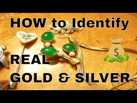 How to tell Silver and Gold Jewelry from Junk Buying It Cheap