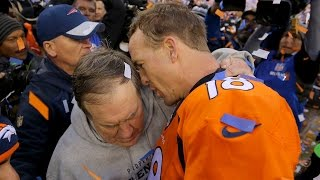 Mic Catches Peyton Manning Telling Bill Belichick 'This Might Be My Last Rodeo'