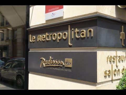 Radisson Blu le Metropolitan walkthrough room 226
