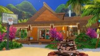 Building a New Bar for Sulani in The Sims 4: Island Living (Streamed 6/22/19)