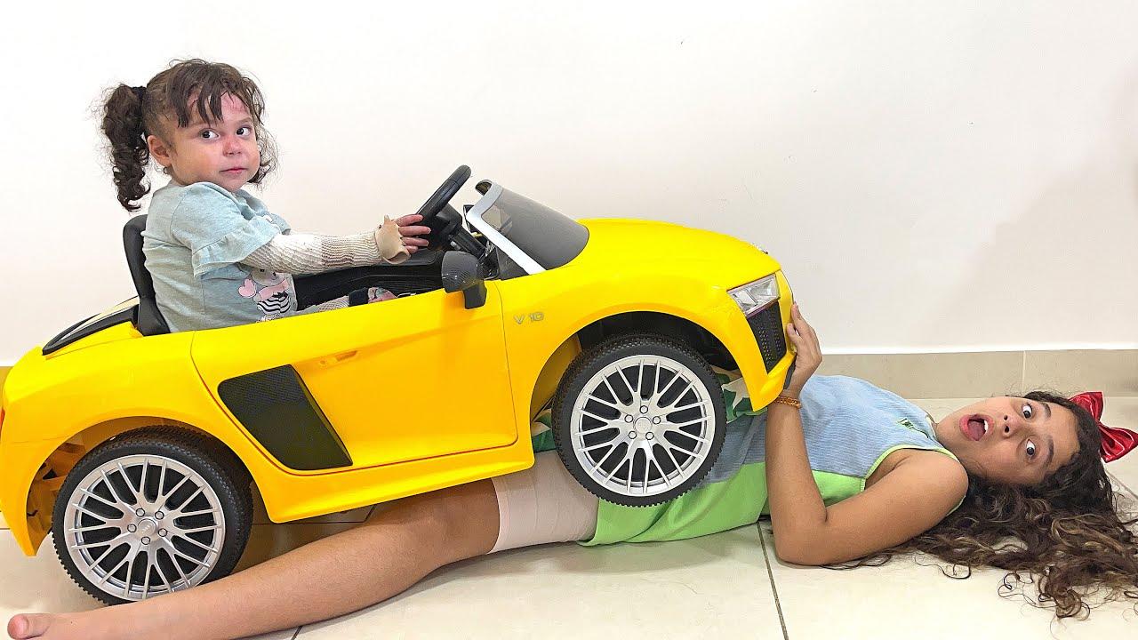 Sarah e a história do novo carro para Eloah - New Room for baby