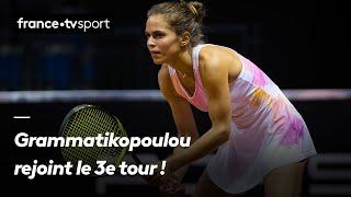 Roland-Garros 2019 : Grammatikopoulou rejoint le 3e tour après une bataille de 2h44 avec Watson