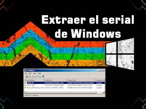 Extraer El Número De Serie De Windows