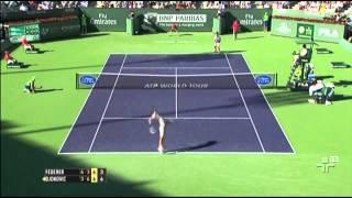 Novak Djokovic vence Roger Federer no Indian Wells