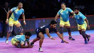 Pro Kabaddi 2018 Highlights | Tamil Thalaivas vs Haryana Steelers | Hindi