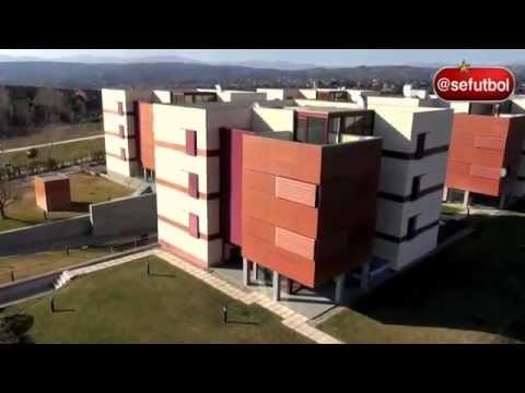 Campus ciudad del f tbol residencia en las rozas madrid for Mudanzas en las rozas