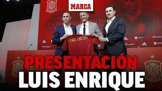Luis Enrique: Rueda de prensa de presentación como seleccionador de España | DIRECTO MARCA