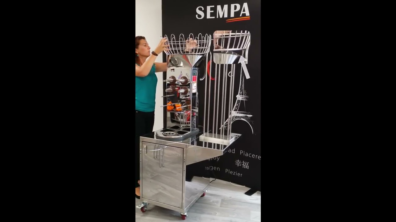 montage machine jus d 39 orange ol 161 das youtube. Black Bedroom Furniture Sets. Home Design Ideas
